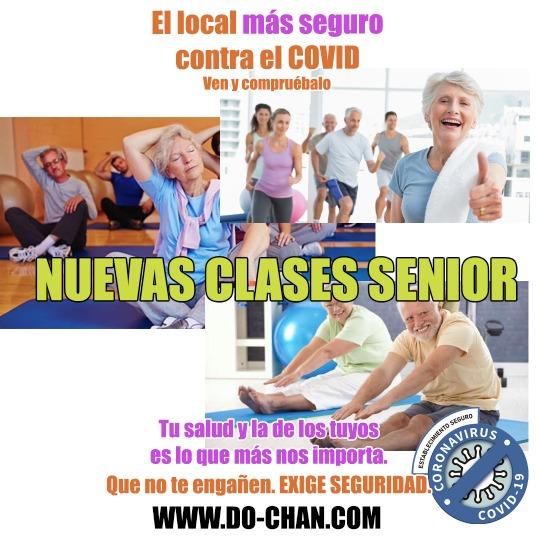Clases Senior en Gimnasio de Sant Andreu de la Barca